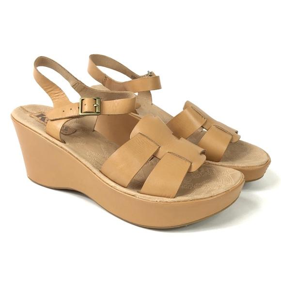 fd6ff517df3 Kork-Ease Shoes - Korks by Kork-Ease Della Platform Wedge Sandals